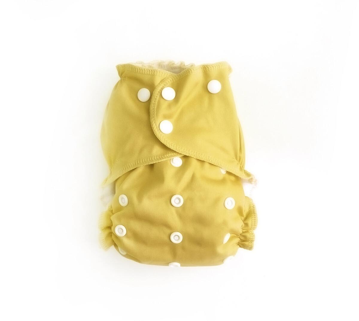 Easy Peasies One size Pocket Cloth Diaper - Daffodil