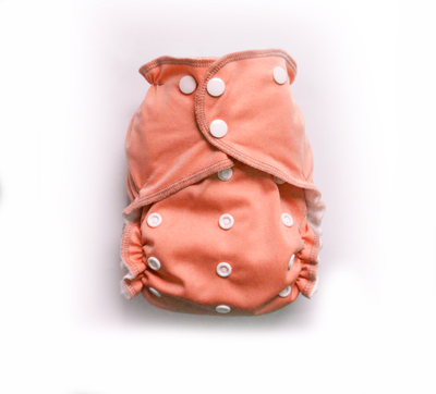 Easy Pocket™ One Size Cloth Diaper - Peachy