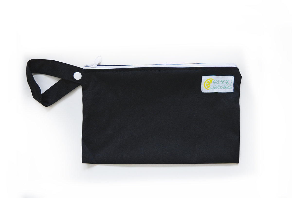 Easy Peasies® Mini Reusable Wetbag With Strap - Eclipse