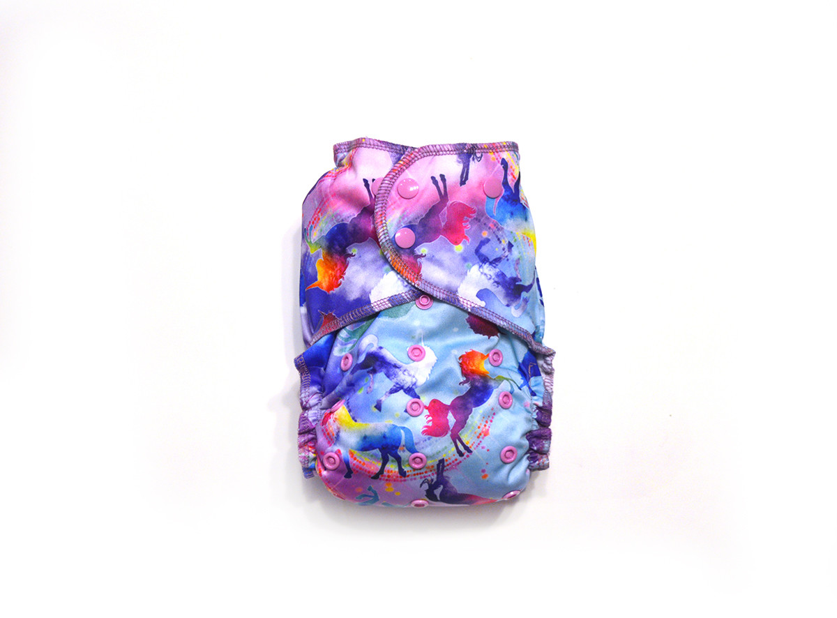 Celeste Ready-Use™ / Dry-Nights™ AIO Cloth Diaper - One Size