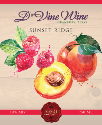 Sunset Ridge - (Peach Raspberry Sangria)