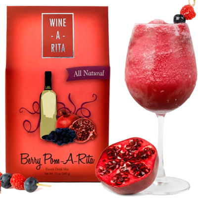 Wine A Rita | Pomegranate Blueberry | Frozen Drink Mix