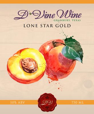 Lone Star Gold - (Peach Chardonnay)