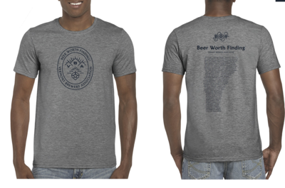 Beer Worth Finding T-Shirt Heather Gray