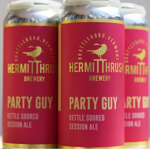 Hermit Thrush Brewery Party Guy 4-Pack