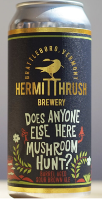Hermit Thrush Brewery Does Anyone Else Here Mushroom Hunt 4-Pack