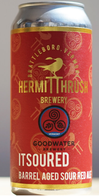 Hermit Thrush Brewery ItsouRED Single 16oz Can