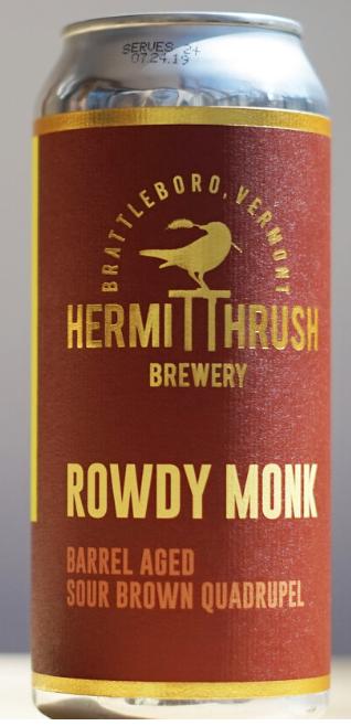 Hermit Thrush Brewery Rowdy Monk 4-Pack