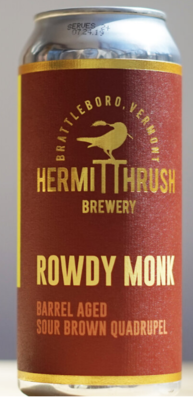 Hermit Thrush Brewery Rowdy Monk Single 16oz Can