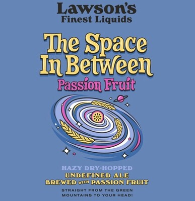 Lawson's Finest Liquids The Space In Between with Passion Fruit 4-Pack