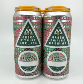 Green Empire Brewing Citra Friendly Pale Ale 4-Pack