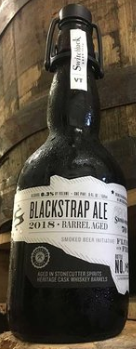 Switchback Brewing Co. Barrel-Aged Blackstrap '18 Single 500ml Bottle
