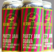 Hermit Thrush Brewery Party Jam Guava 4-Pack
