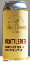 Hermit Thrush Brewery Brattlebeer Single 16oz Can