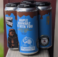 Collaborative Brewing Maple Schwarz Be With You 4-Pack