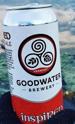Goodwater Brewery inspiRED (Dark Irish Red Ale) 4-Pack