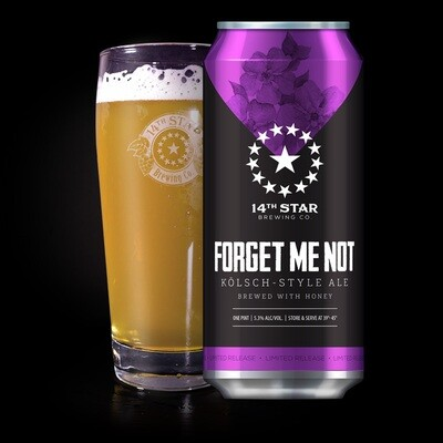 14th Star Brewing Co. Forget Me Not 4-Pack