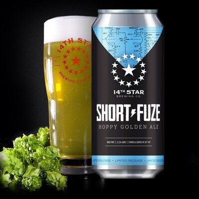 14th Star Brewing Co. Short-Fuze 4-Pack