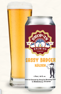 Drop-In Brewing Company Sassy Badger 4-Pack