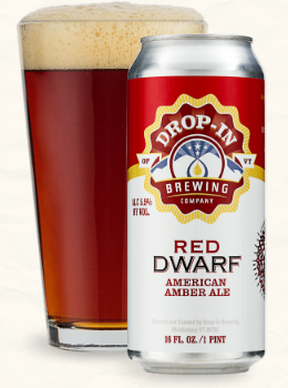 Drop-In Brewing Company Red Dwarf 4-Pack