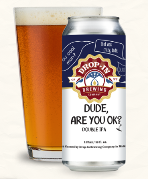 Drop-In Brewing Company Dude Are You OK? 4-Pack