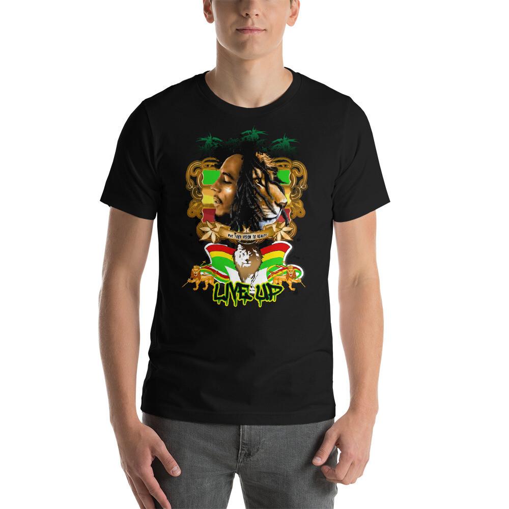 Short-Sleeve Unisex T-Shirt Rasta Vision
