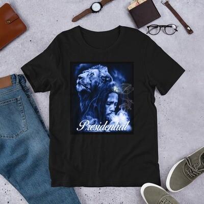 Short-Sleeve Unisex T-Shirt Rasta Presidential