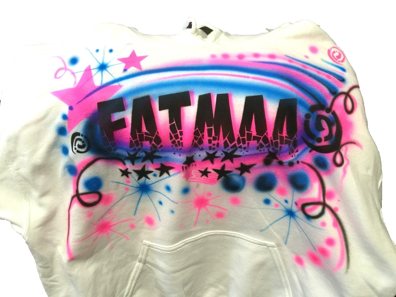 Fatma Name Airbrush