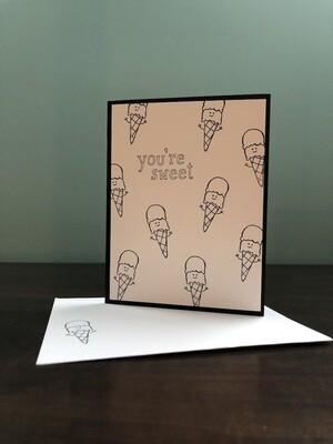 Colouring Cards - Ice Cream