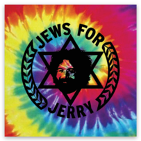 Jews For Jerry - cute little stickers!