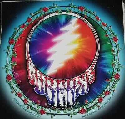 CUBENSIS (light) sticker