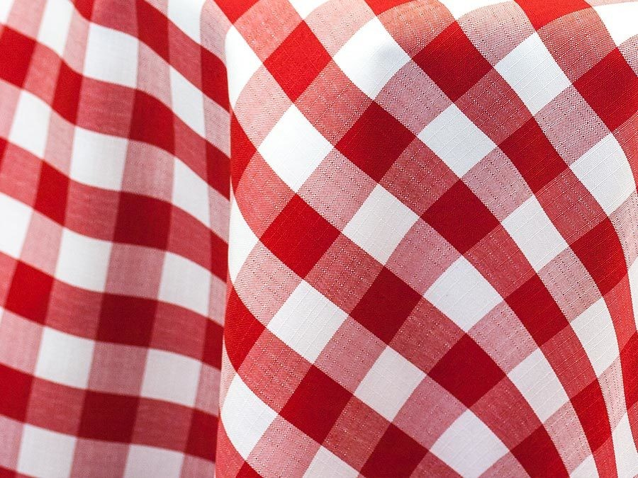 Checkered Tablecloths Rentals