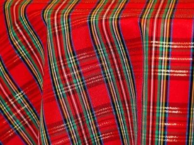 Holiday Plaid Tablecloths Rentals