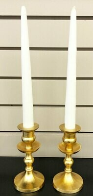Gold Metal Candlestick Holder Rentals