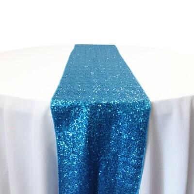 Glitz Sequin Table Runner Rentals (Taffeta Backing)