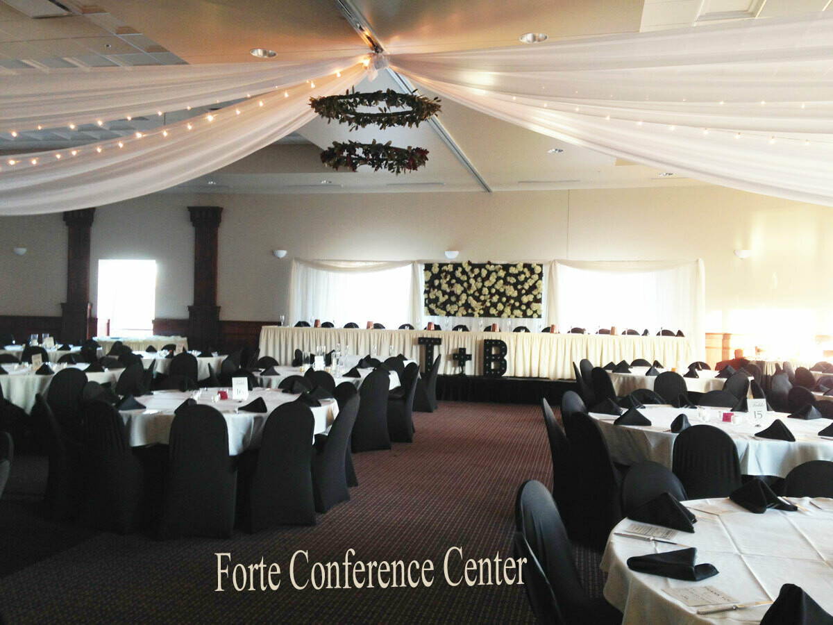 Forte Conference & Banquet Center Ceiling Draping - Des Monies