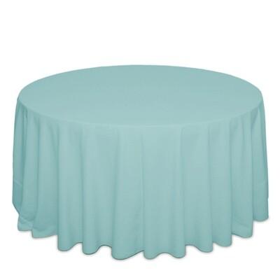 Aqua Tablecloth Rentals - Polyester