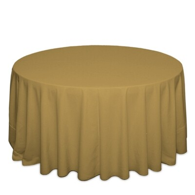Copper Tablecloth Rentals - Polyester