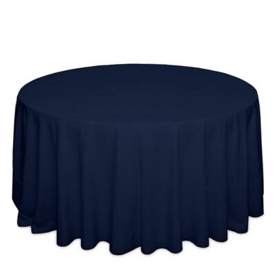 Dark Blue Tablecloth Rentals - Polyester