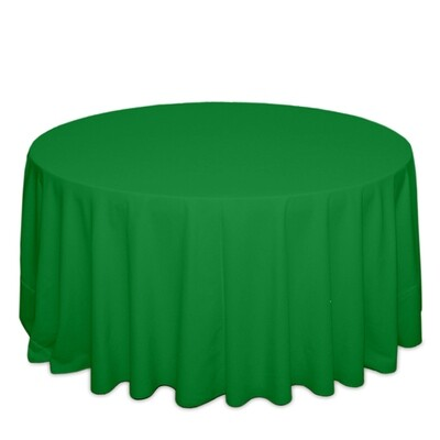 Emerald Green Tablecloth Rentals - Polyester