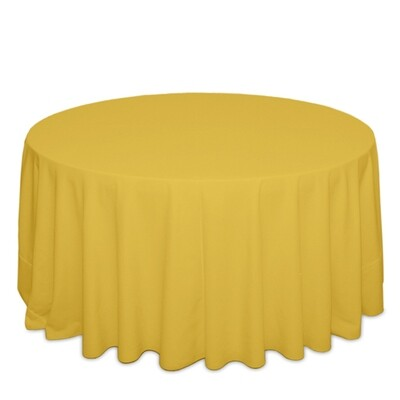 Goldenrod Tablecloth Rentals - Polyester