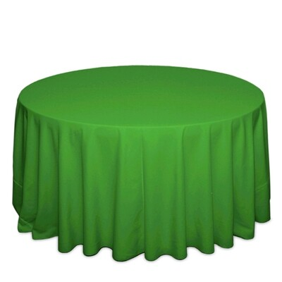 Kelly Green Tablecloth Rentals - Polyester