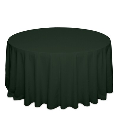 Forest Green Tablecloth Rentals - Polyester