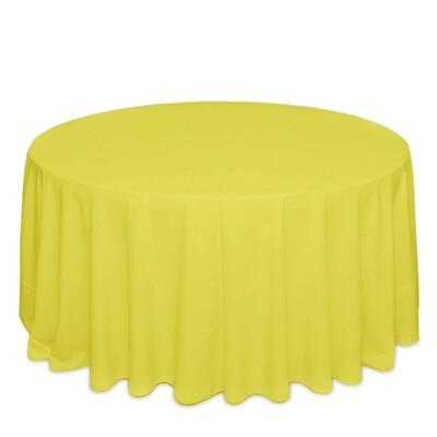 Lemon Tablecloth Rentals - Polyester