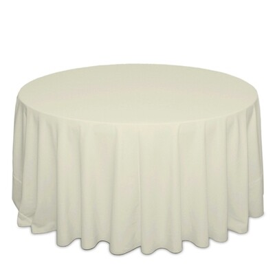 Ivory Tablecloth Rentals - Polyester