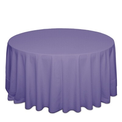 Lavender Tablecloth Rentals - Polyester
