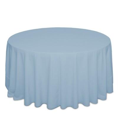 Light Blue Tablecloth Rentals - Polyester
