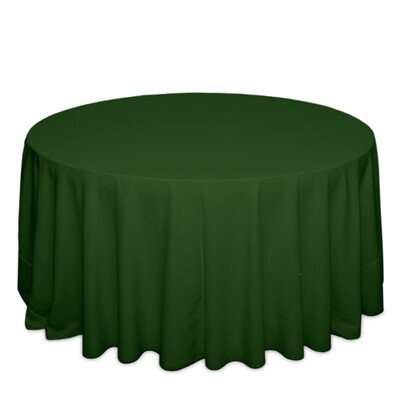 Moss Green Tablecloth Rentals - Polyester