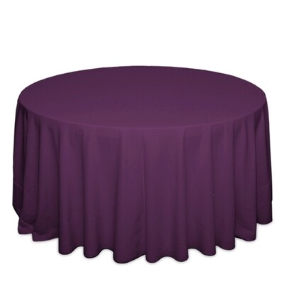 Plum Tablecloth Rentals - Polyester