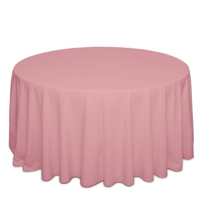 Pink Tablecloth Rentals - Polyester